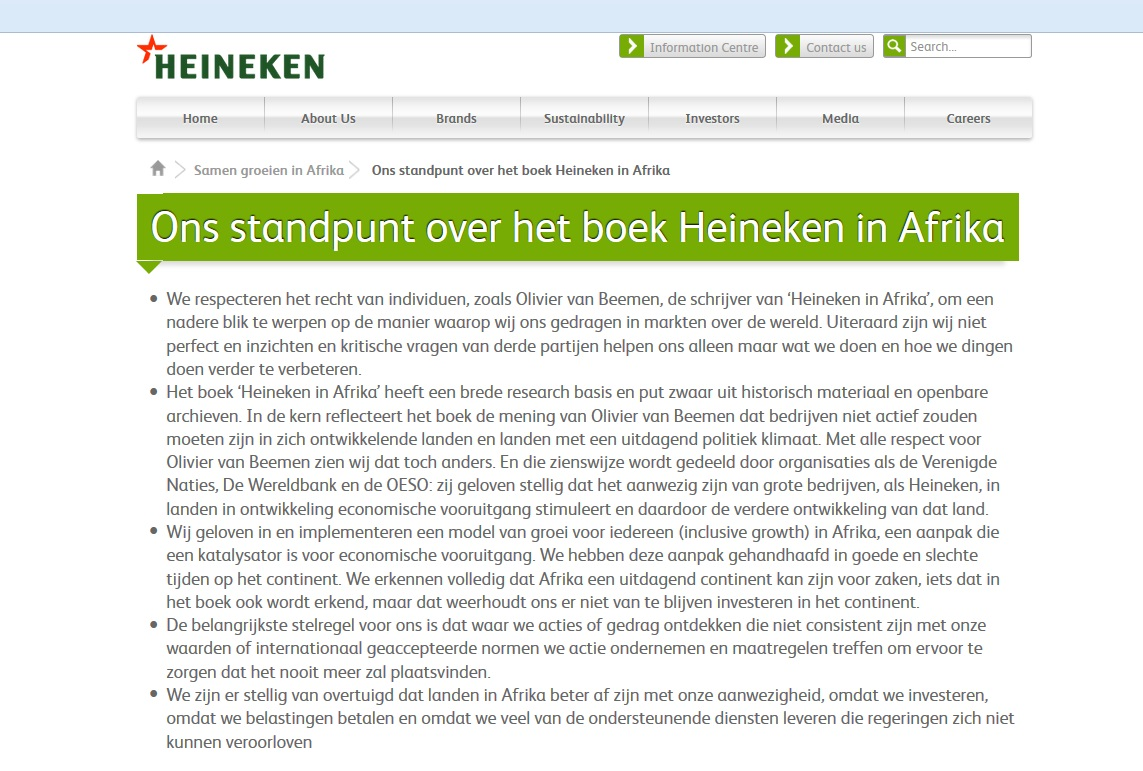 Heinekenstatement